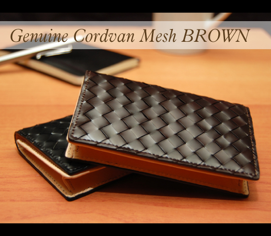 Genuine Cordvan 名刺入れBLOWN